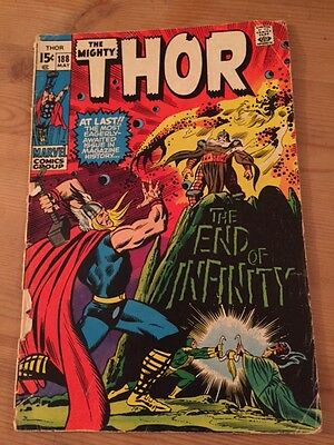 The Mighty Thor Marvel Comics Vol 1 no 188 May 1971 15c