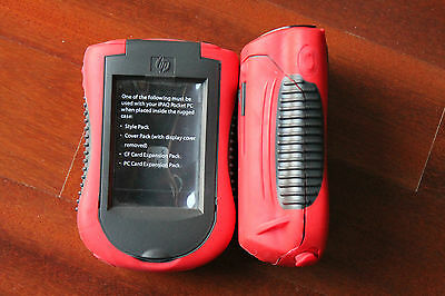 2x HP 282347-B21 283062-001 IPAQ H54xx 55xx SERIES POCKET PC RUGGED CASE ROBUSTO