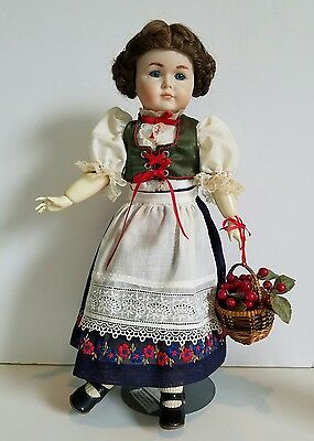 "Antique Reproduction 17"" Jointed Doll German Mein Leibling Kammer Reinhardt VGC"