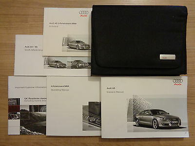 Audi A5 Coupe Owners Handbook Manual and Wallet 07-11