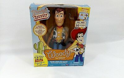 Toy Story Collectors Edition Woody's Roundup Woody Deluxe Film Replica Doll