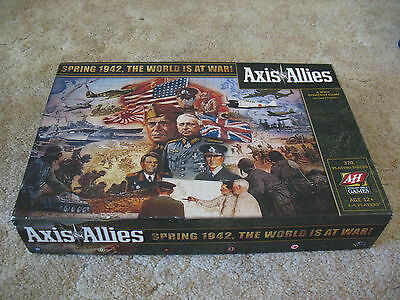 Avalon Hill AXIS & ALLIES 'Spring 1942, The World at War!' Board Game