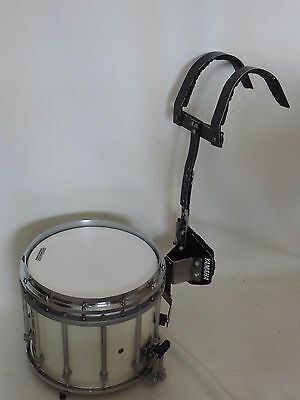 """Yamaha 14""""  SFZ Marching Band Snare Drum + Carrier"""