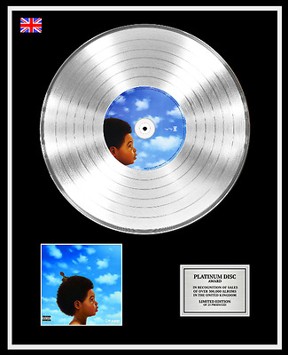 DRAKE Ltd Edition CD Platinum Disc Record NOTHING WAS THE SAME