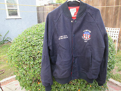 HILLARY Bill CLINTON FOR PRESIDENT Vintage 1992 Campaign Staff Crew Jacket VOTE