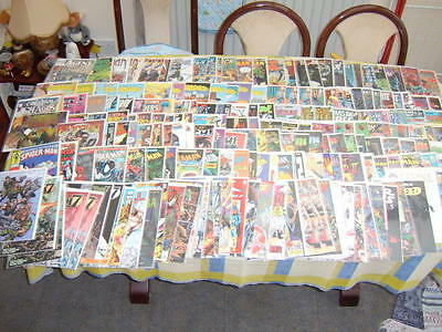 Job Lot Comic Collection Uk & Us Comics From 1970 To 2000 New & Used Some Signed
