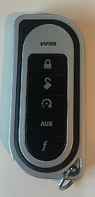 Used Viper 5 Button Sst Remote Transmitter Fob Fits Most 2 Ways.