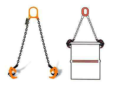 1000KG2205LB Drum Lifter Chain Sling drum clamp drum lifting clamp barrel lifter