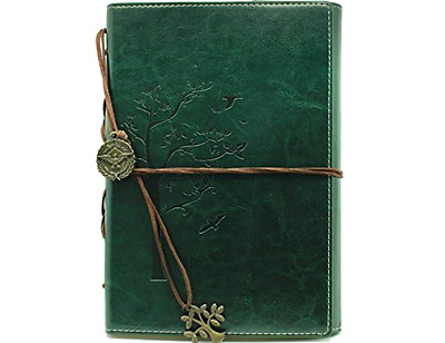 Leather Classic Lined Journal Writing Diary With Acid Free Paper .