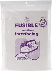 """FUSIBLE NON-WOVEN INTERFACING -15""""X3 Yards Fabric Support 4 Pattern Application"""