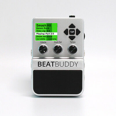 Beat Buddy Drum Machine - Personal Drummer Stompbox