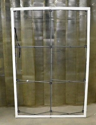 Brand Stand OneFabric Straight Pop Up Display 2x3 88in x 60in