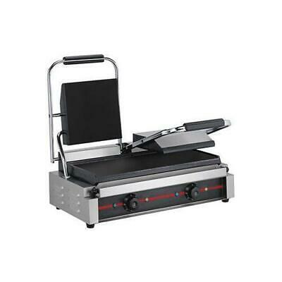 ElectMax Contact Grill, Double, Commercial Kitchen Equipment, Griddle / Grills