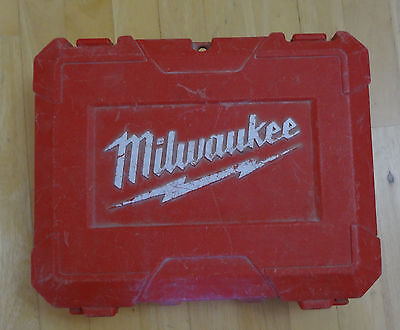 Used Milwaukee M12 Hammer Drill Driver Kit Hard Case ( 2411-22 )