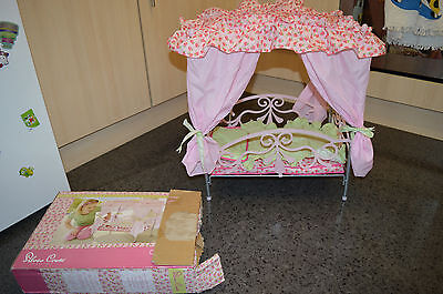 baby dolls cot, crib,accessories,silver cross canopy bed, toys