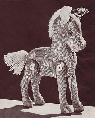 VINTAGE TOY PATTERNS-TOY Horse , Dolls & Bears to make and dress ...