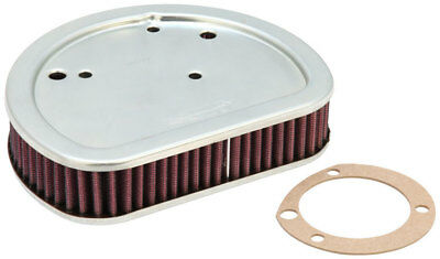"""K&N Air Filter Element Twin Cam Models with """"Round"""" OEM Air Cleaner"""