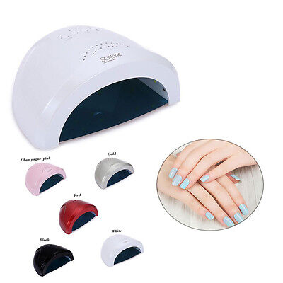 Professional 48W Manicure Tool UV / LED Phototherapy Nail Gel Lamp Nail Dryer US