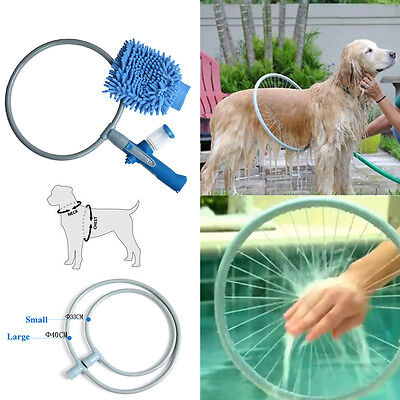 Large Pet Dog 360 Degree Washer Bath Shower Woof Washing Kit Easy Clean Tool