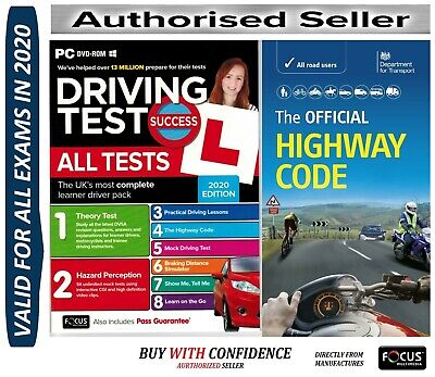 Driving Theory Test & Hazard + Highway Code Book. 2019 Latest  atpcHw