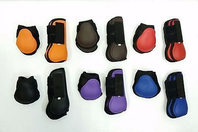 Quality Northern Fetlock & Tendon Protection Boots Set Large sizeVARIOUS COLOURS