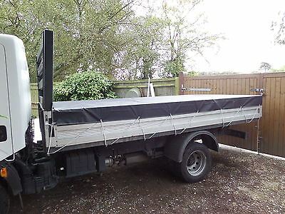 """Nissan Cabstar Flat Sheet Heavy Duty Cover 10 Ft 6 """"x 8 Ft Or Made To Measure."""
