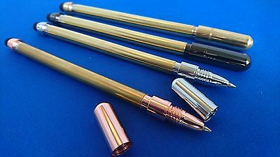 Woodturning Pen Kits SIMPLICITY Touch Stylus Rollerball x 1, x 3 or Bushes