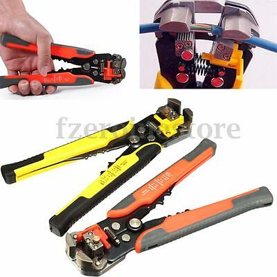 Wire Cable Stripper Crimper Automatic Cutter Plier Electricians Crimping Tool