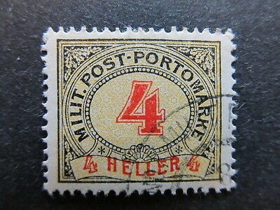 A3P23 Bosnia & Herzegovina Postage Due Stamp 1904 4h used #109