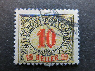 A3P23 Bosnia & Herzegovina Postage Due Stamp 1904 10h used #111
