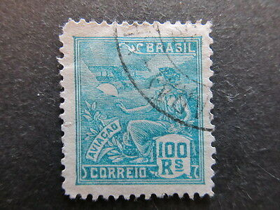 A3P23 Brazil 1920-22 Unwmk 100r used #113