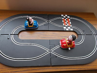 Collectable Beano Dennis the Menace Race Track - wind up cars - Good Condition