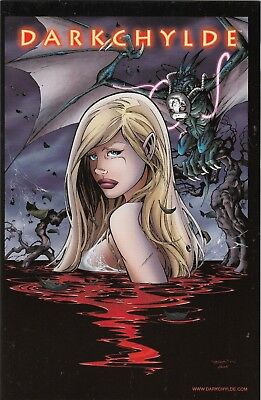 "Darkchylde Redemption # 1/2 Variant A - Comic Action 2006 - ""pp"" 28/30 - Top"