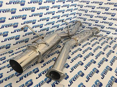 Jrparts Stainless Steel Catback Exhaust System For Nissan 200Sx S13 Ca18Det