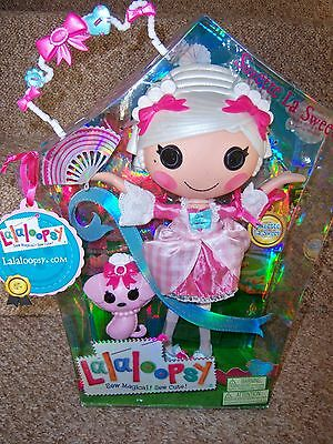 "Bnib Rare Large Lalaloopsy Doll ""suzette La Sweet"" Collectors Edition"
