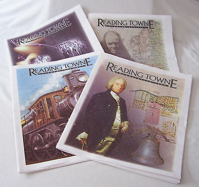 READING TOWNE 4 VOLUMES 250th ANNIVERSARY READING PA