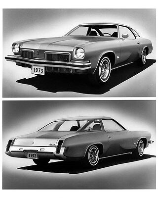 1973 Oldsmobile Cutlass S Colonnade Hardtop Coupe ORIGINAL Factory Photo ouc0660