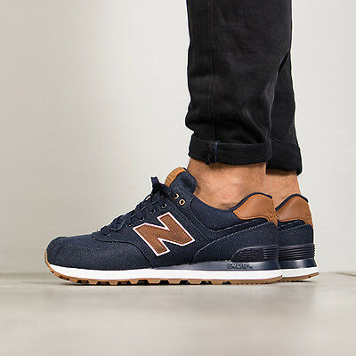 Scarpe Uomo Sneakers New Balance 15 Ounce Canvas Pack [Ml574Txb]