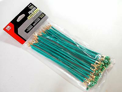 """GB - 25 pcs.  - Grounding Pigtails - GGP-1282 - 12AWG Stranded - 8"""" with Screws"""