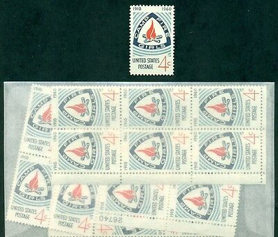 100 CAMP FIRE GIRLS STAMPS issued over 50 years ago