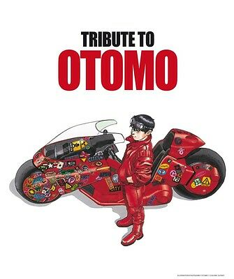 TRIBUTE TO OTOMO Glenat Limited Edition 999 copies Katsuhiro Akira kaba art book