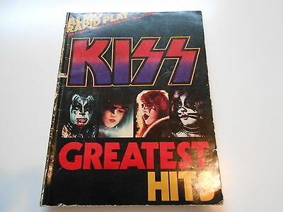 KISS ** GREATEST HITS ** SongBook ** 1977' Almo Publications