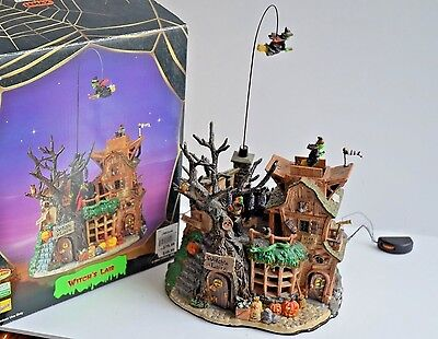 Lemax Spooky Town Witch's Lair Animated Musical 2004