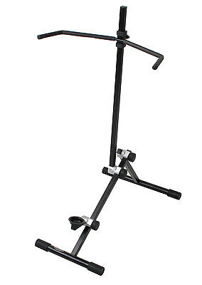 Classic Cantabile Foldable Sturdy Cello Stand Foam Padded Arms, For Stage & Home