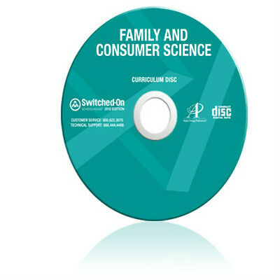 SOS Family & Consumer Science Homeschool Curriculum CD Switched On Schoolhouse