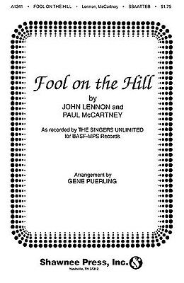 The Beatles: Fool On The Hill (SATB) Choral Sheet Music