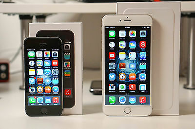 New Apple iPhone 6  & 5s 16GB - Space Gray, Gold & Silver GSM Unlock Smartphone