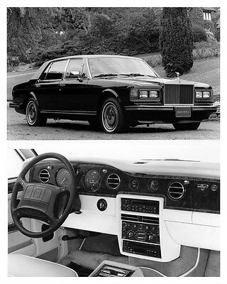 1991 Rolls Royce Silver Spur II Sedan ORIGINAL Factory Photo ouc0803