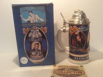 The Anheuser-Busch Collector edition # 03513 Elvis sings the blues series 2000!!