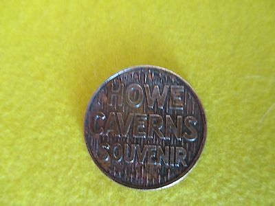 """Vintage """"WITCH OF THE GROTTOES"""" HOWE CAVERNS Souvenir TOKEN"""